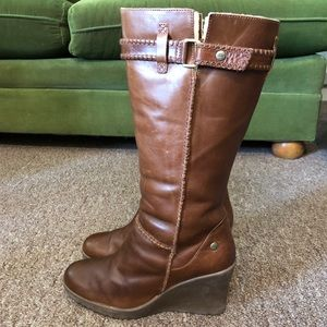 UGG Maxine tall wedge boots